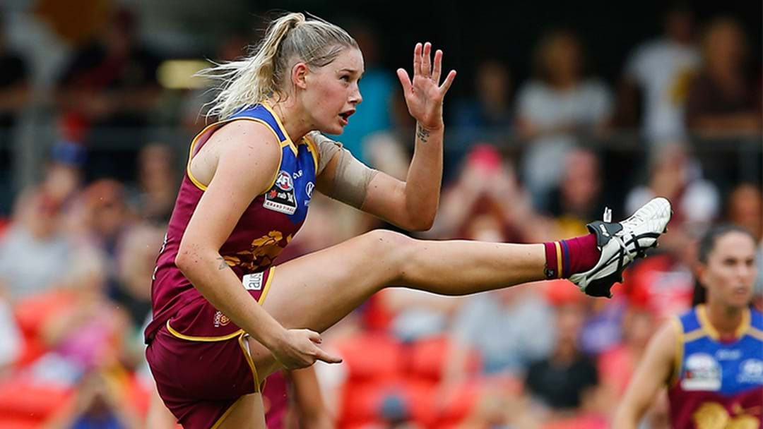 Brisbane Lions Table Offer To Carlton For Tayla Harris Trade
