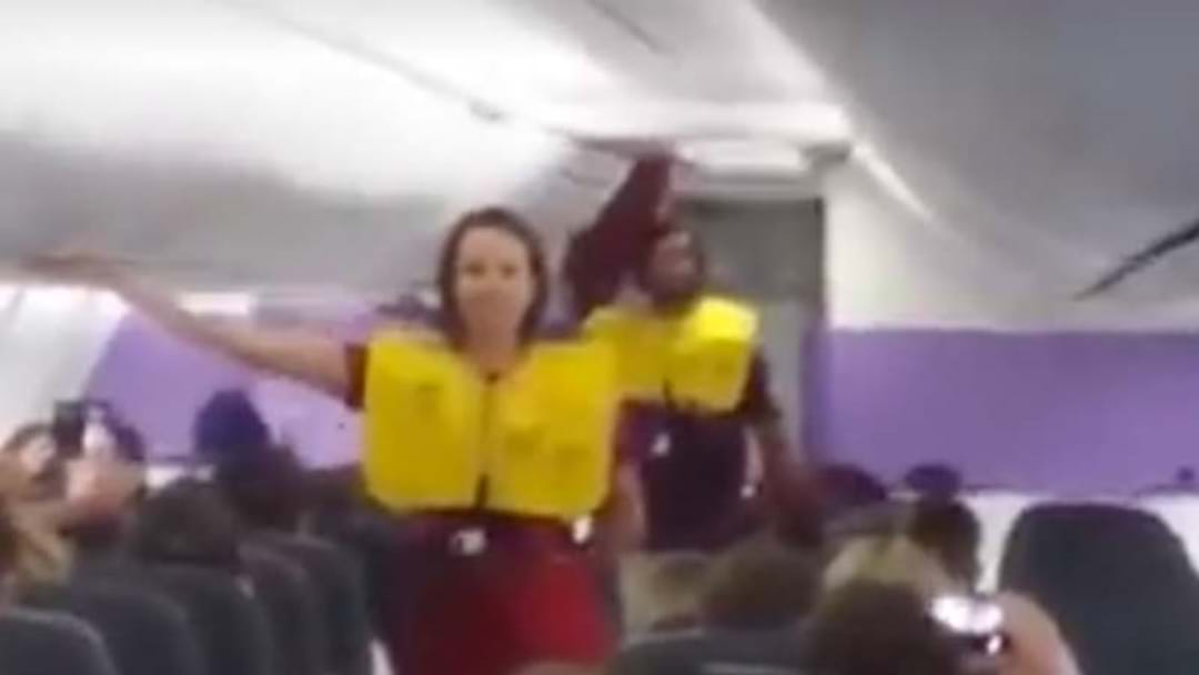 Watch Johnathan Thurston Step In As A Flight Attendant