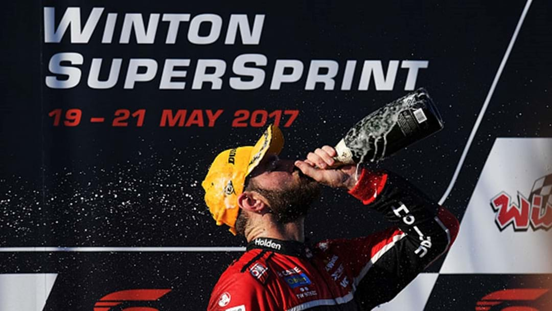 Shane van Gisbergen Wins Race 10 At Winton