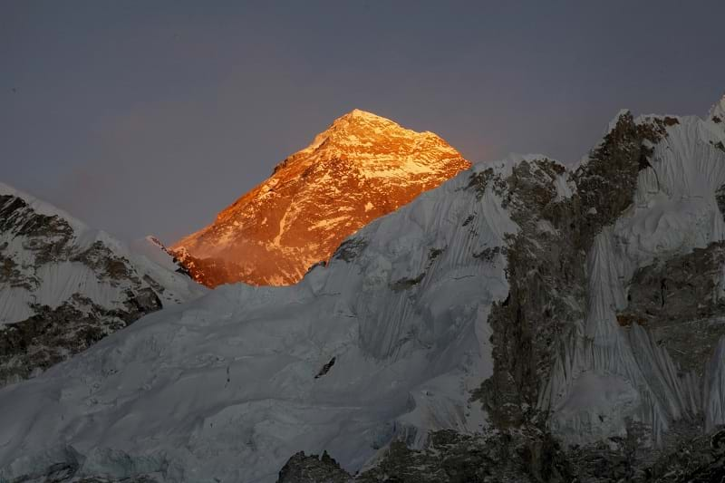 Doctor, 50, dies while trying to climb Mount Everest