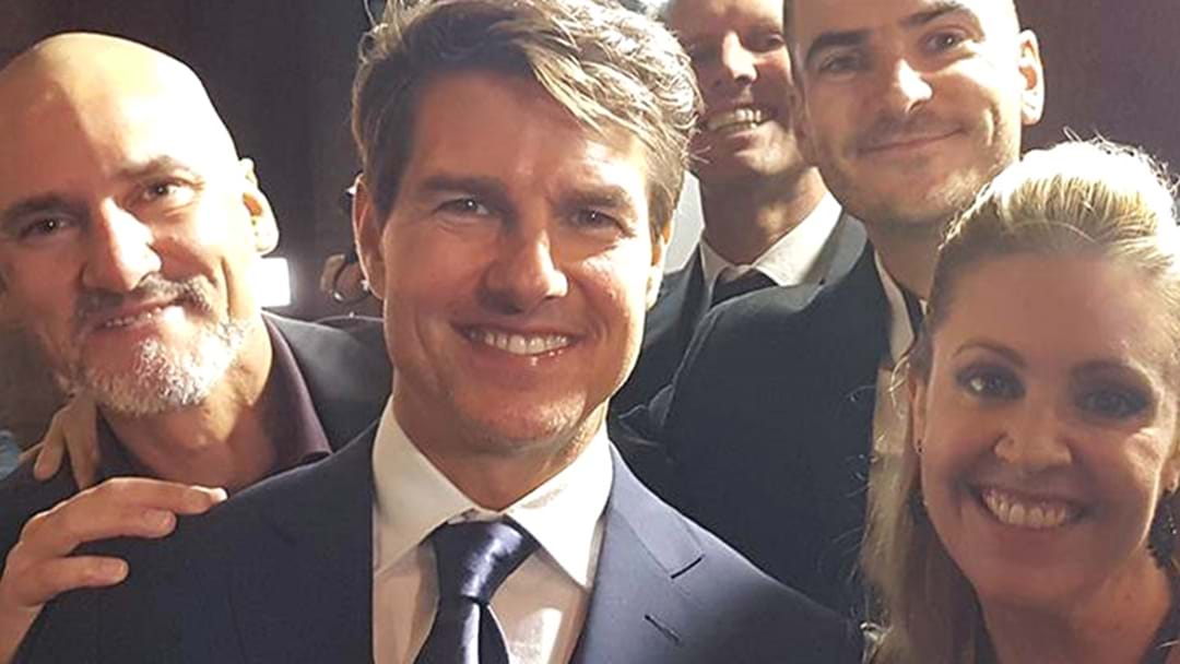 Our Premiere Exclusive With Tom Cruise AND Russell Crowe