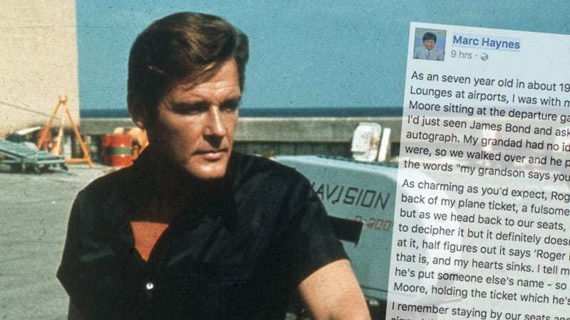 Legendary James Bond Actor Sir Roger Moore Dies At Age 89