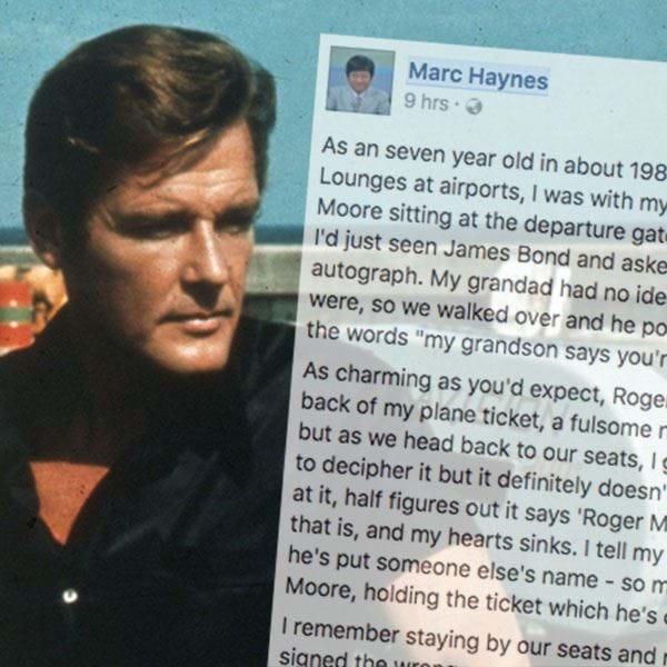 Bloke's Incredible Roger Moore Story