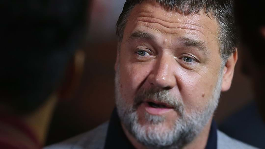 Eddie McGuire Goes One-On-One With Russell Crowe