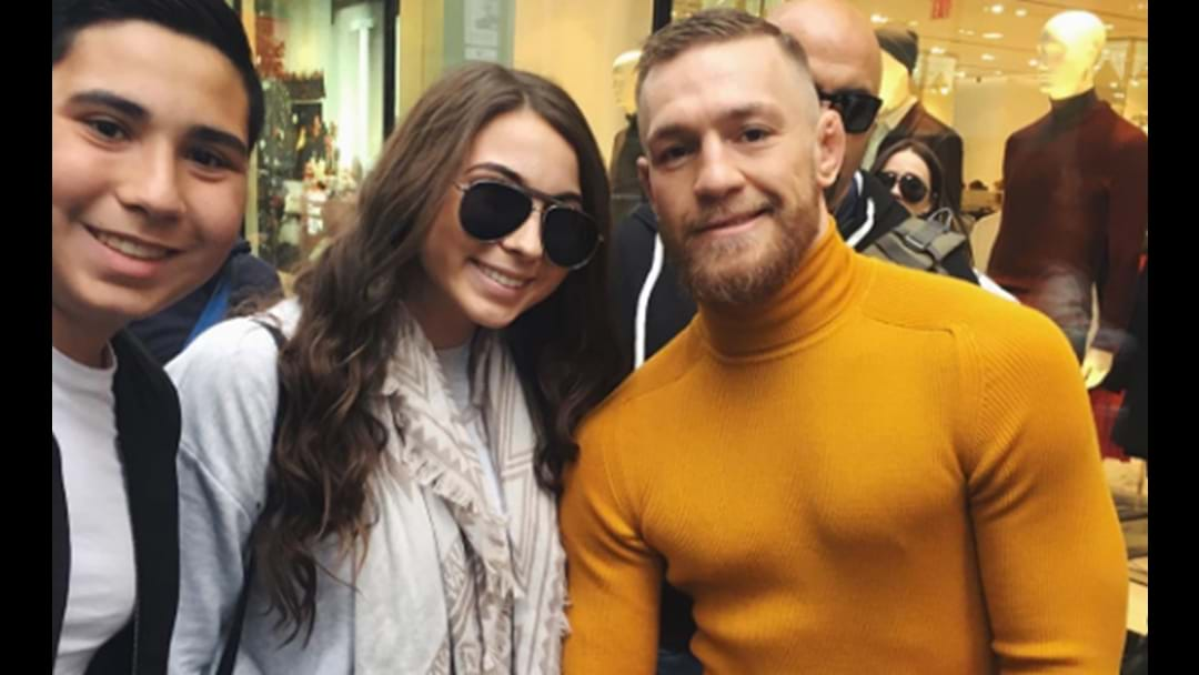 Conor McGregor Completely Shuns A Girl On Instagram