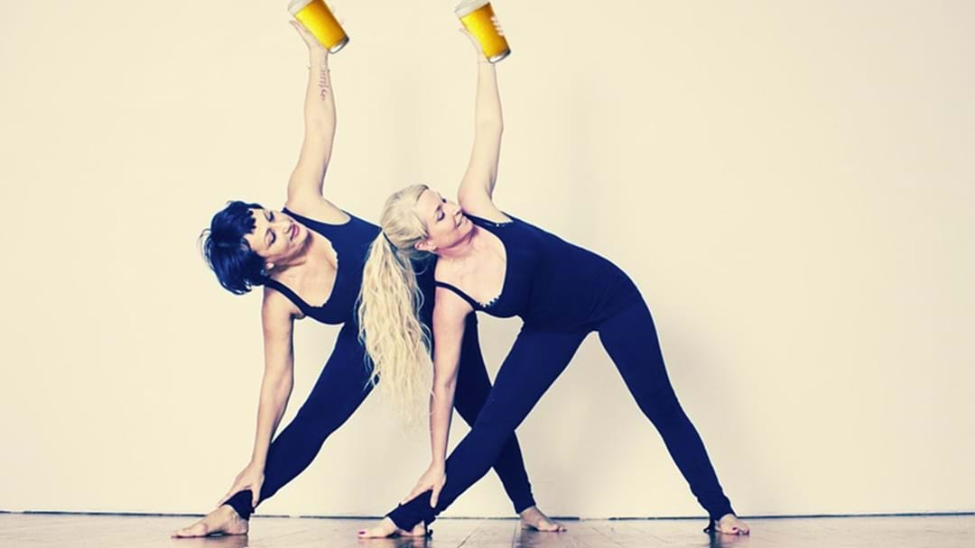 Beer Yoga... It's A Thing Now In Perth