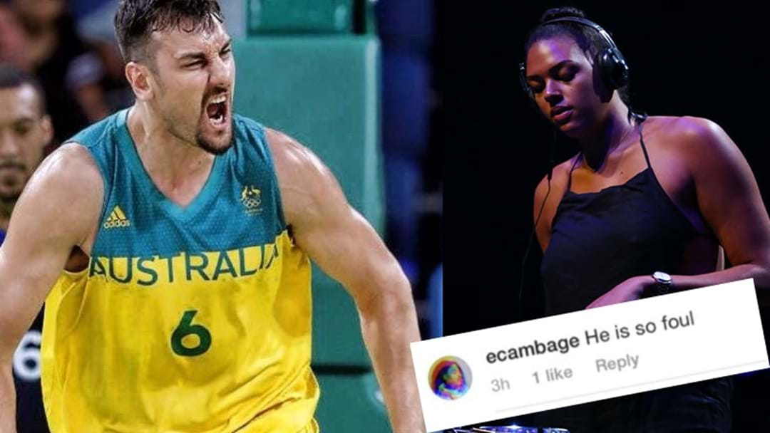 Tension Between Aussie Basketball Stars Andrew Bogut & Elizabeth Cambage Hits New Level