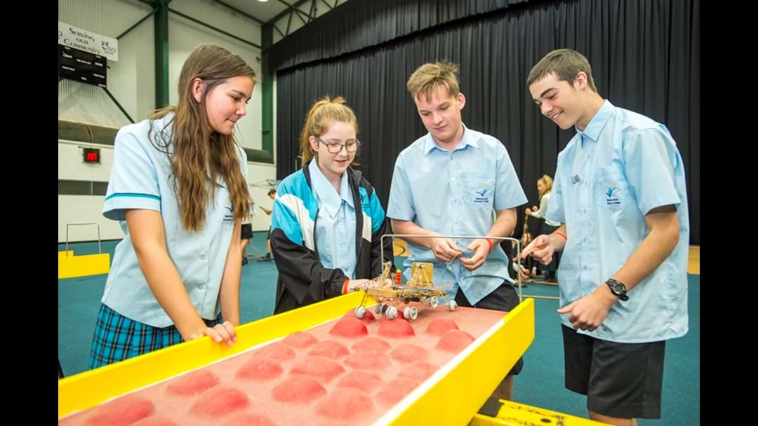 Spectacular Result for St Ursula's at USQ Challenge