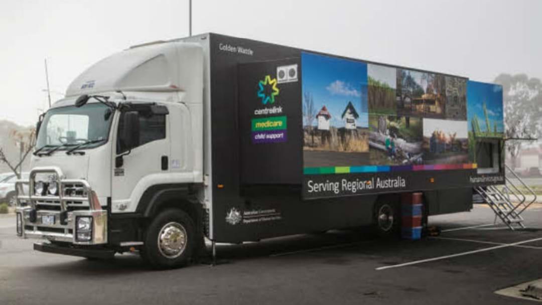 Mobile Service Centre Visiting Regional WA