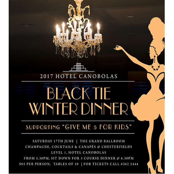 BLACK TIE WINTER DINNER