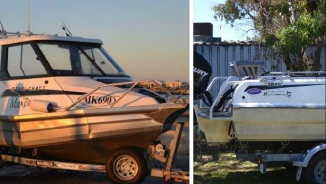 Boat and Trailer stolen from Cape Jaffa.