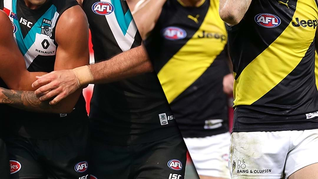 Richmond And Port Fined For ASADA Stuff-Up