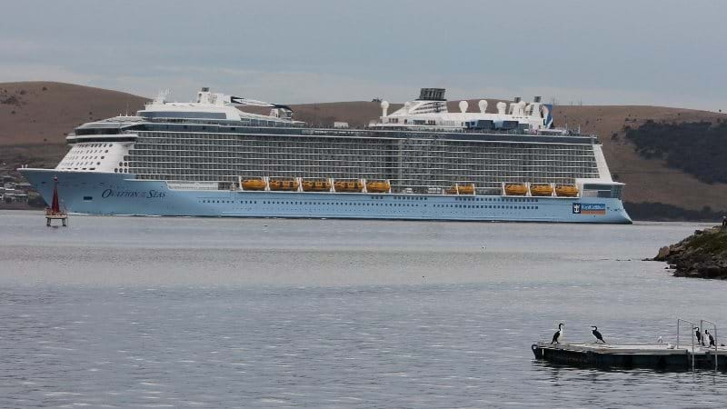 Article heading image for THE FUTURE OF TASSIE CRUISE SHIPS UNDER QUESTION