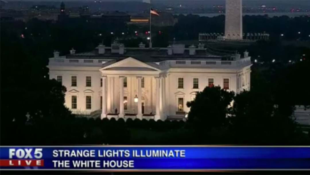 Red Lights Flashing In The White House