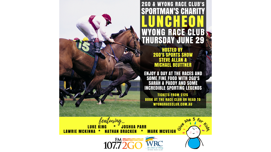 WYONG RACE CLUB'S SPORTSMAN'S LUNCH