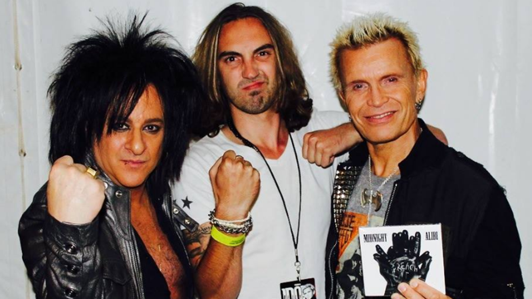 Why Rock Legend Billy Idol Loves This Albury Band