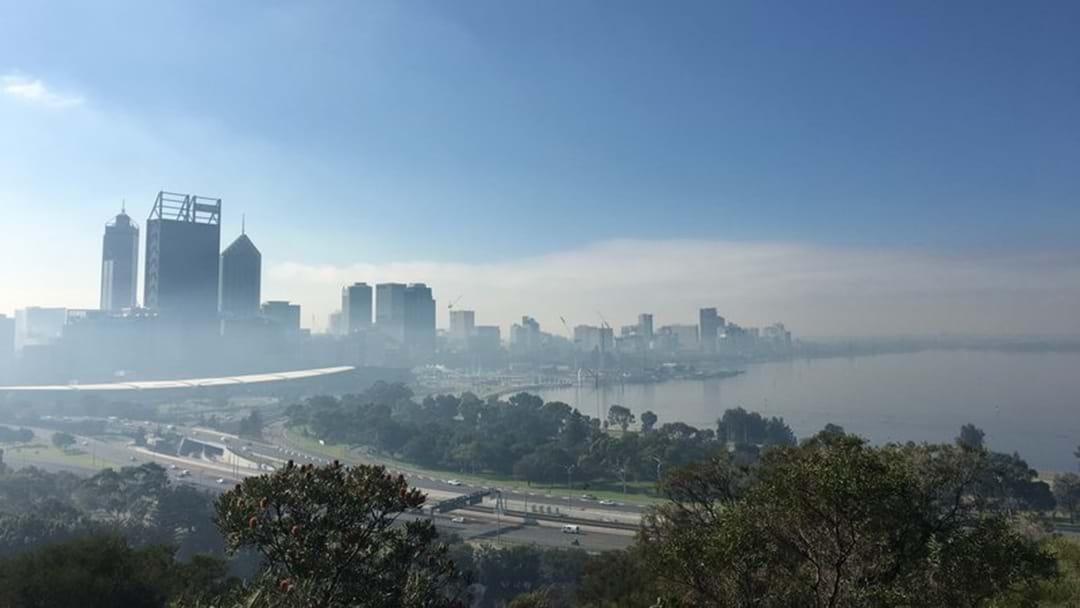 Smoke Haze Over Perth