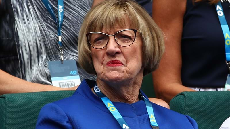 Veteran Margaret Court says tennis