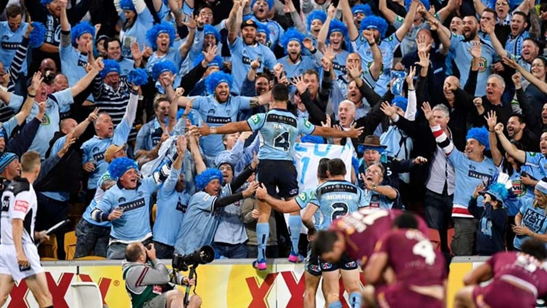NSW Go Into Origin Decider As The Biggest Favourites Since 2005