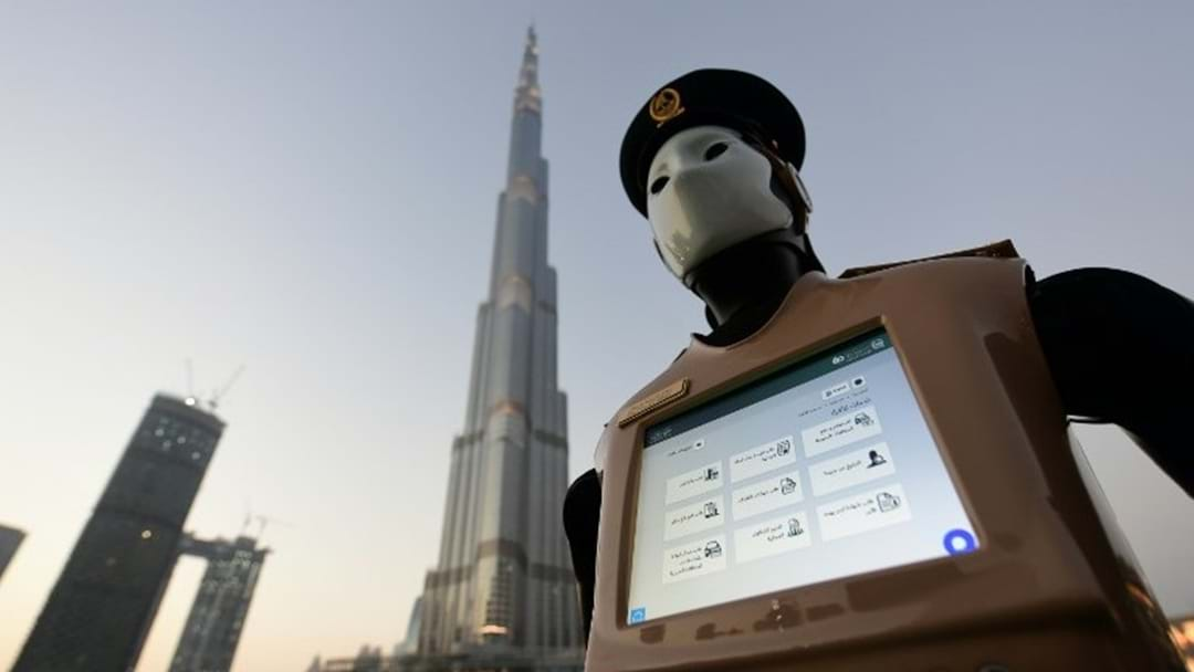 Dubai Debuts Robocop