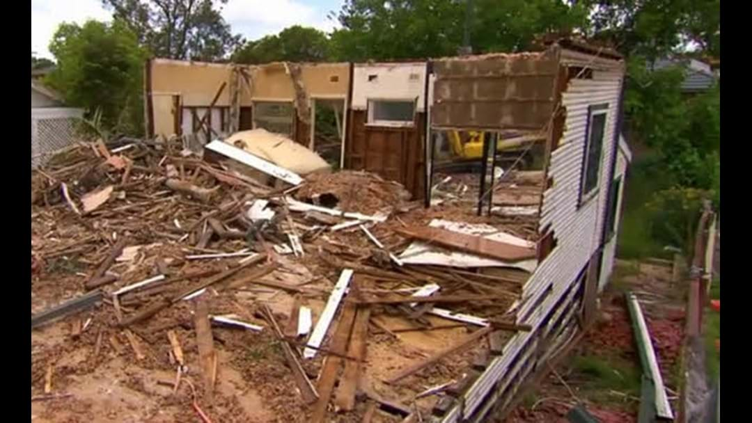 Sydney Man Gets Home To Find His Suburban House Has Been Bulldozed
