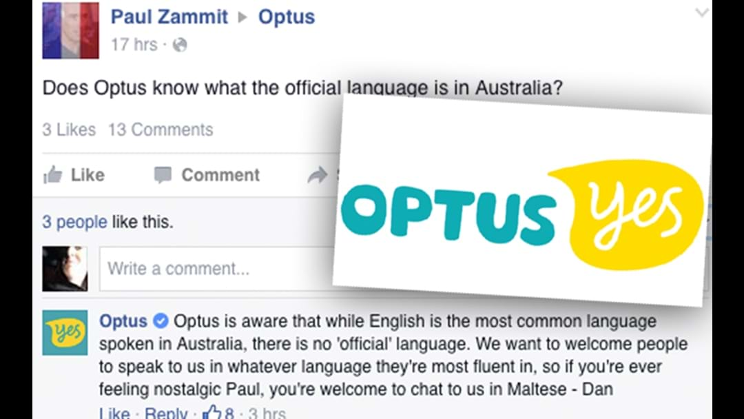Dan From Optus Becomes Facebook Anti-Racism Hero