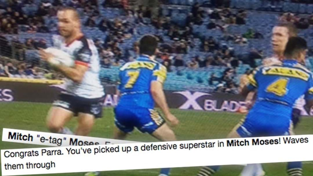 Fans Are Absolutely Savaging Mitch Moses' Defence On Twitter