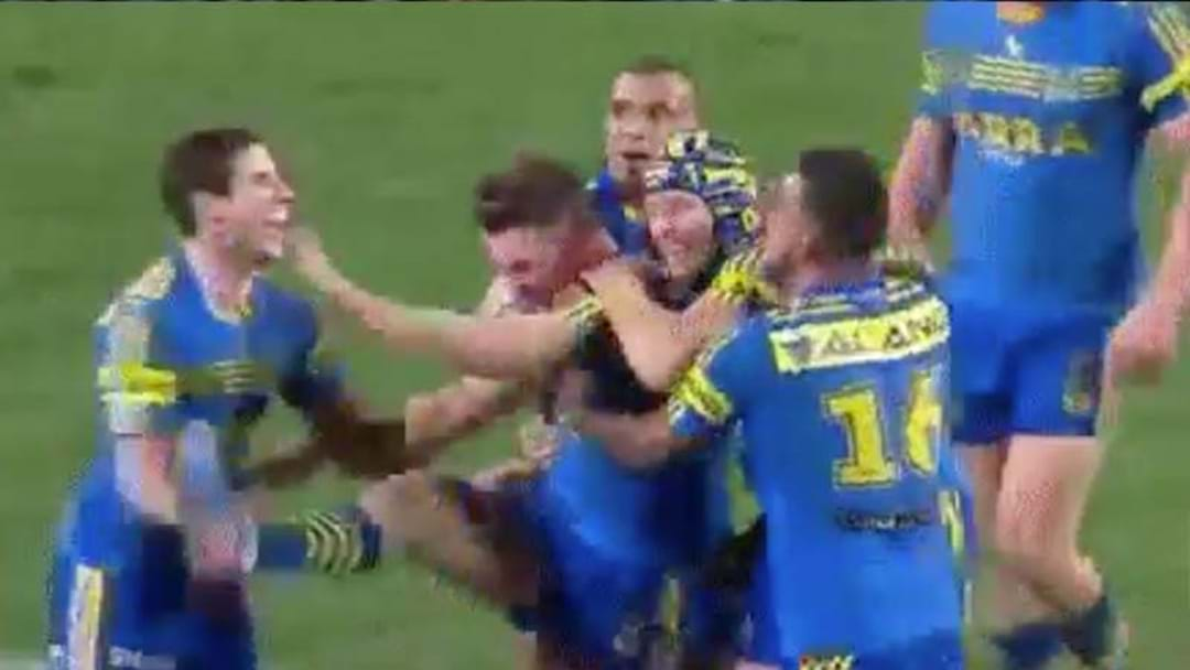 WTF Is Gutherson Doing In This Try Celebration?