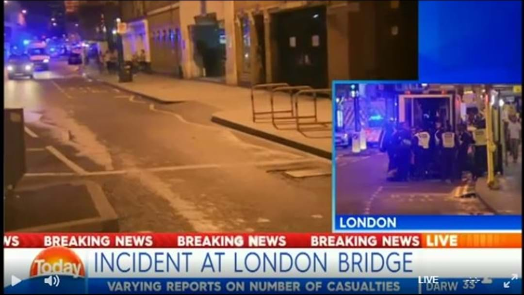 Van Ploughs Into Crowds On London Bridge