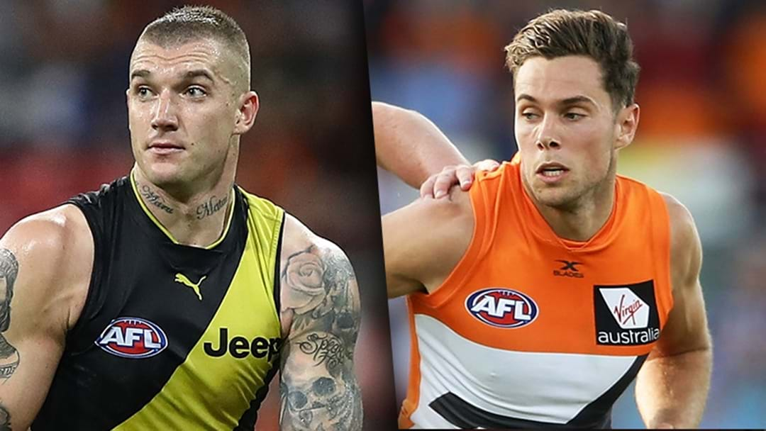 Todd Goldstein On Who He'd Rather Out Of Josh Kelly And Dustin Martin