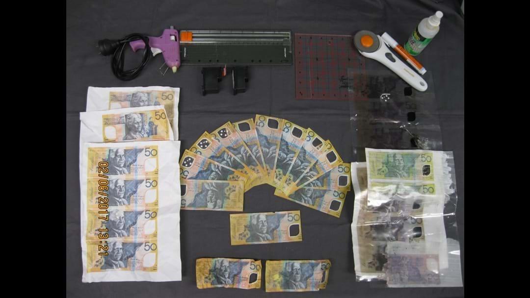 Counterfeit cash found in Broadbeach raid