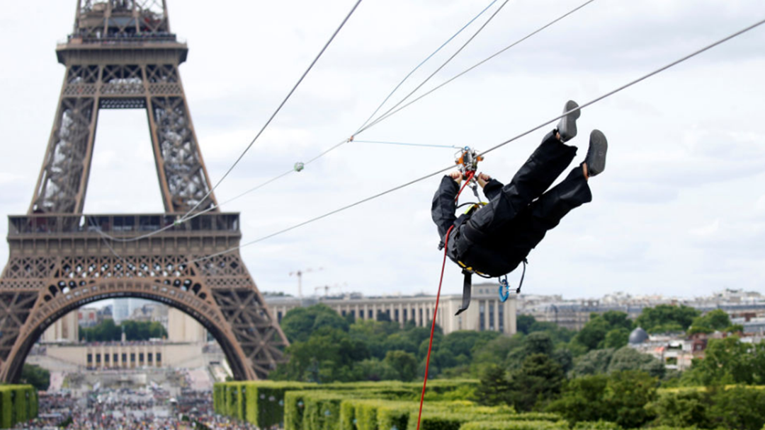 Paris Might Just Boast The World's Coolest Flying Fox