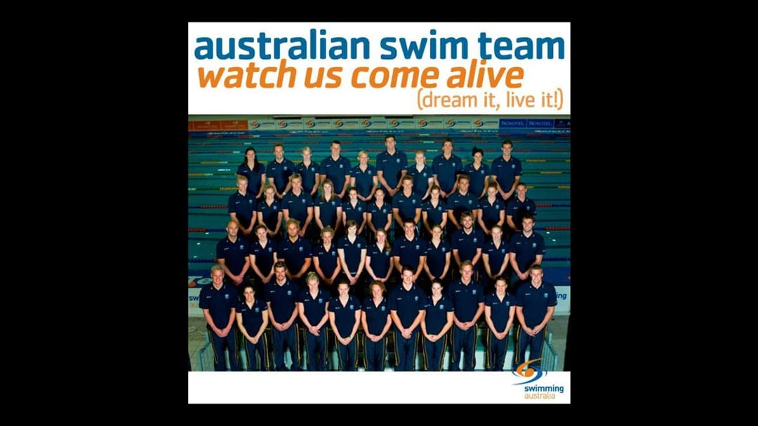 Who Remembers This Ripper Olympic Swimming Team Song from 2008?