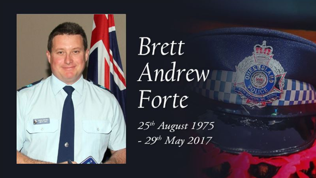 Senior Constable Brett Forte To Be Remembered As A Larrikin Hero