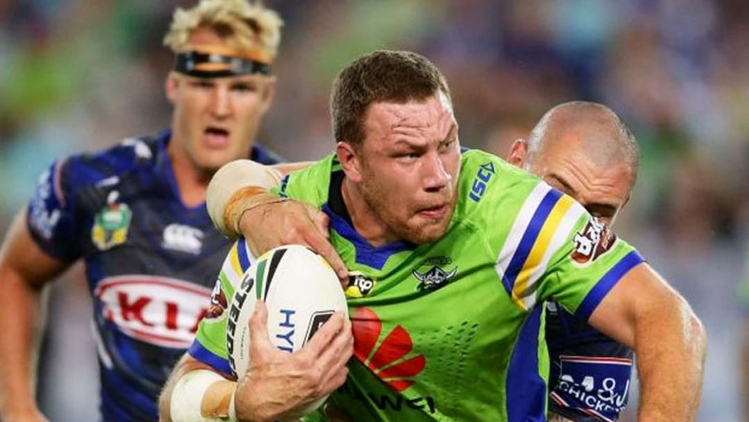 Raiders Shannon Boyd Ruled Out Of The NRL Indefinitely