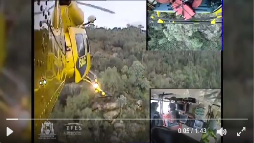 Incredible Footage Of Helicopter Rescue