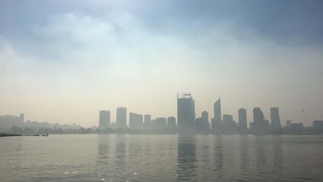 Smoke Haze Lingers Over Perth