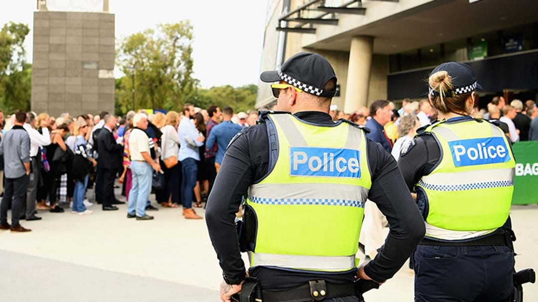 You'll See A Whole Lot Of Police This Weekend Around Melbourne