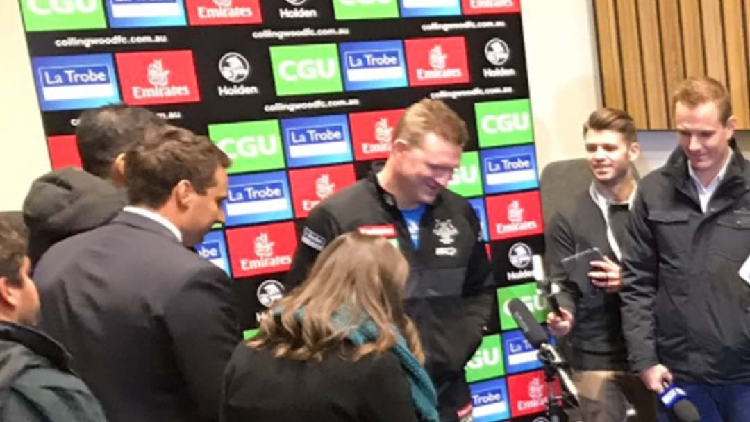 Nathan Buckley Confirms Father-Son Debutant