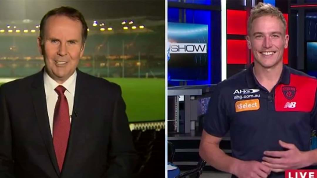 Damian Barrett Reveals Why Bernie Vince OINKED On The Nine News