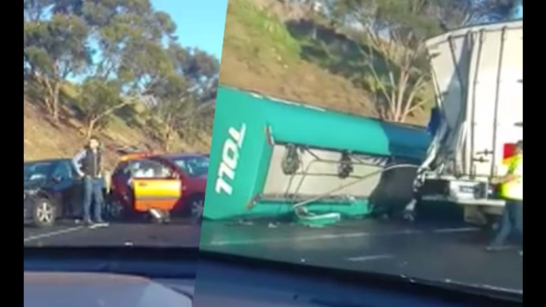Serious Accident On The Calder Freeway