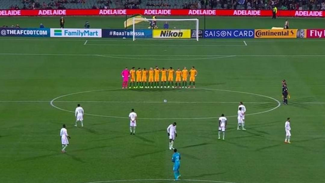 The Saudi Arabian Soccer Team Snubs A Minute's Silence At Last Night's World Cup Qualifier