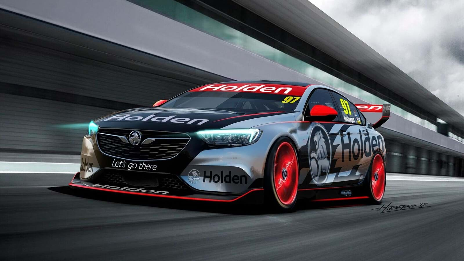 Holden Commodore Supercars Concept revealed