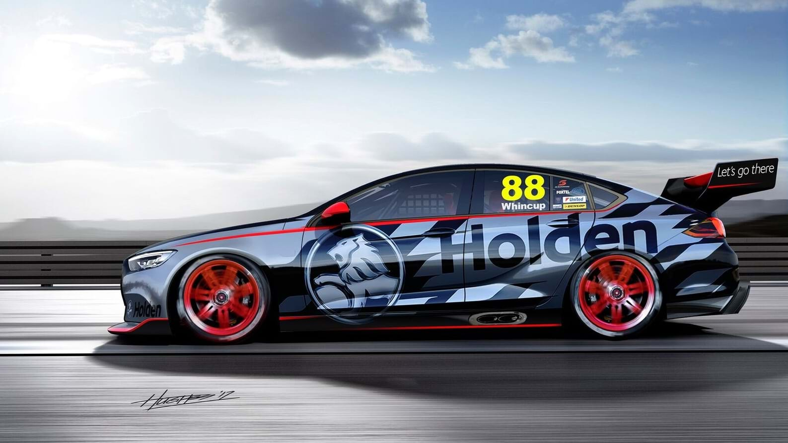 Holden unveils sleek next-gen Commodore Supercar concept