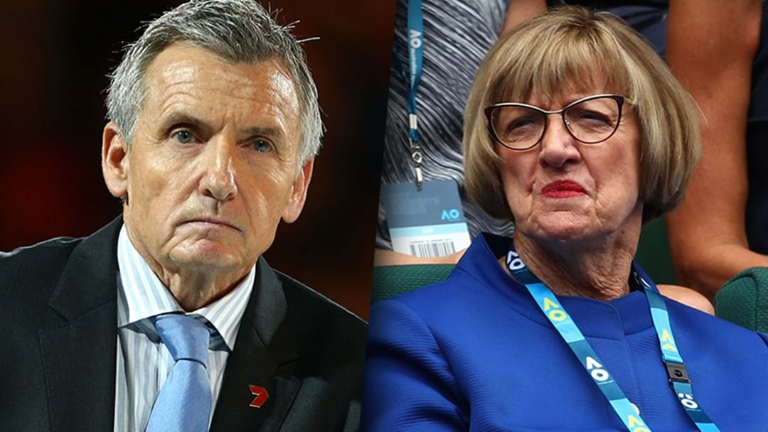 Bruce McAvaney Responds To Margaret Court's Comments