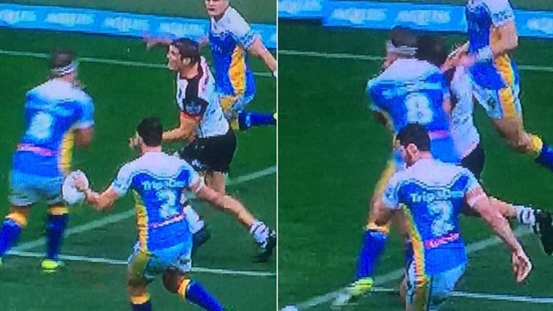 Jarrod Wallace's Origin Chances In Jeopardy After This Shoulder Charge