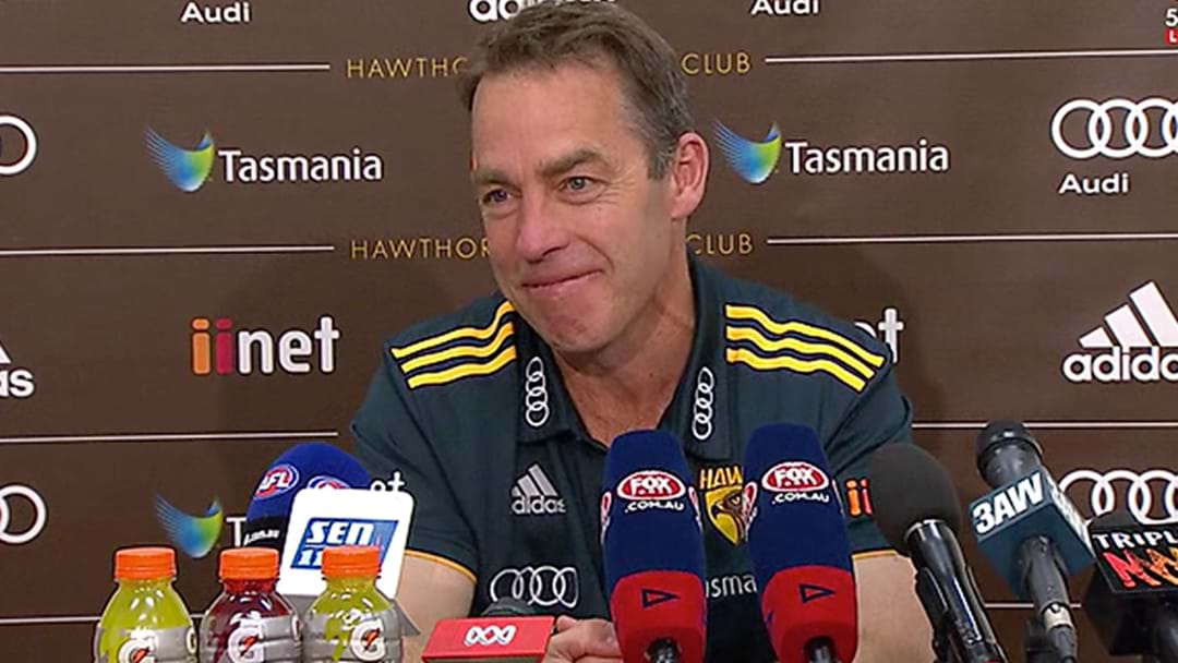 Alastair Clarkson Takes A Dig At The Umps Post-Match