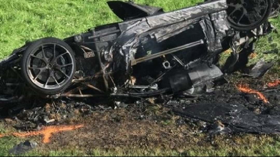 Top Gear Star Survives Fireball Crash