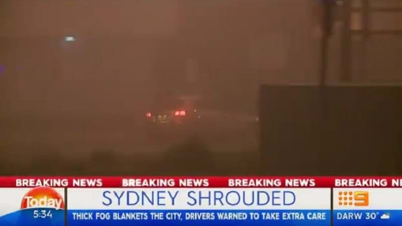 Flights cancelled, delayed by Sydney Airport fog haze