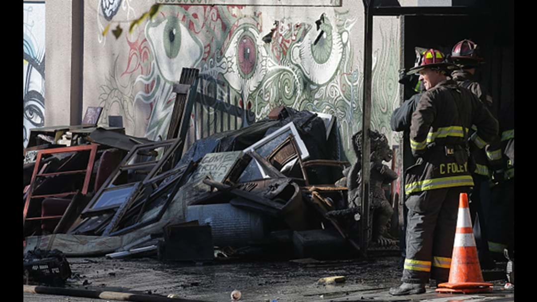 Fears Up To 40 Dead After Fire Breaks Out At California Dance Party